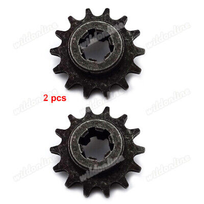 T8F 14T Front Pinion Sprocket For 43 49cc Mini Dirt Pocket Bike Scooter Gear Box