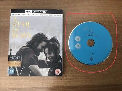 A Star is Born  [2018] (Blu-ray) Bradley Cooper, Lady Gaga - Disk Only
