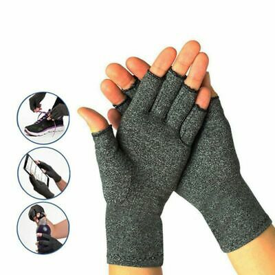 Mens Women Anti-Arthritis Compression Gloves Support For Carpal Tunnel PC Typing