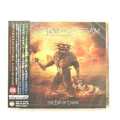 2019 Flotsam and Jetsam END OF CHAOS with bonus track JAPAN CD BRAND NEW WITH OB