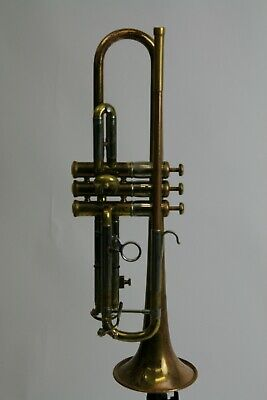Trumpet Olds Recording from 1956 almost raw Brass