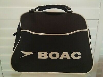 Vintage BOAC Bag for cabin crew - 1970s