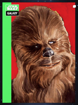 Topps Star Wars Card Trader Galaxy Selects Series 2 Wave 3 Chewbacca Green