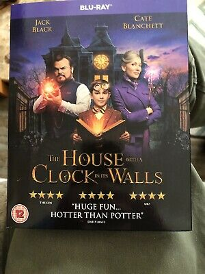 The House with a Clock in its Walls (Blu-ray) Jack Black, Cate Blanchett