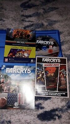 Far Cry 5 PS4 FarCry 5 Playstation 4 PS4
