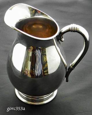 International Sterling Silver Royal Danish Pitcher c353 5in.