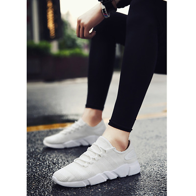 Men's Walking Sports Shoes Breathable Casual Athletic Slip on Running Sneakers