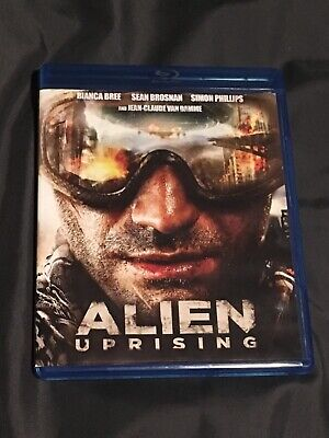 alien uprising Blu-ray Movie Disc, great condition