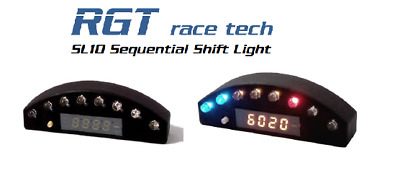 Sequential shift light shiftlight tachometer RGT race tech SL10