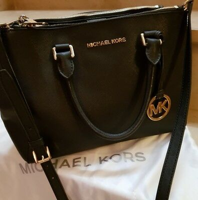 8a71b89153 MICHAEL KORS BORSA bag Sutton PELLE LEATHER Saffiano - EUR 70,00 ...