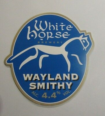 White Horse Brewery Wayland Smithy Beer Pump Clip Cover