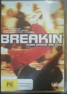 Breakin' Rare Dvd Breakdancing Film Breakdance The Movie Lucinda Dickey Boogaloo