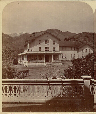 Colorado Series By Thurlow Stereoview No. 48 Manitou House