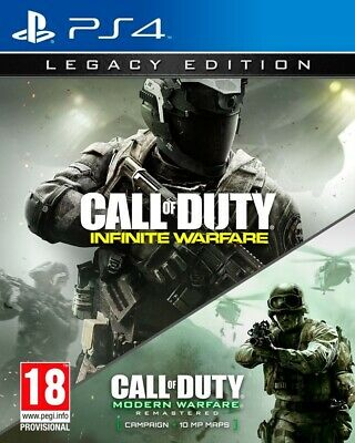 Juego Ps4 Call Of Duty Infinite Warfare Legacy Edition Ps4 4447985