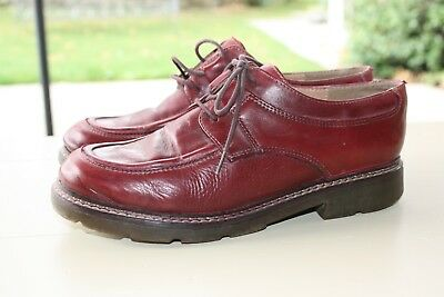 EUR 15 CUIR derbies pointure CHAUSSURES 39 KARSTON ROUGES qGUpjMLVSz