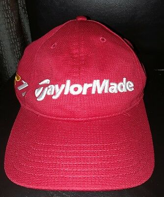 TMAX GEAR TaylorMade Golf Burner R11 Tour Red Cap Hat One Size Polyester a7e43ad56db