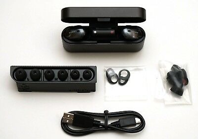 Sony WF-1000X True Wireless Earbuds Noise Cancelling Headphones Black WF1000X