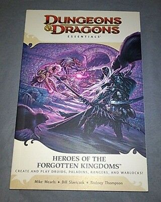 Dungeons & Dragons Essentials - Heroes of the Forgotten Kingdoms