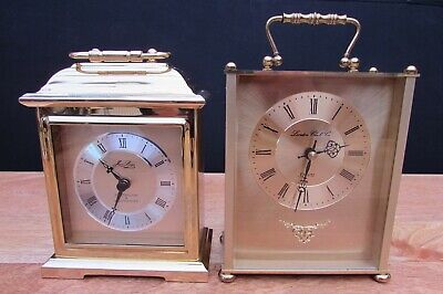 Jean Louis Chime Carriage Clock And London Clock Company Clock Spares Or Repair