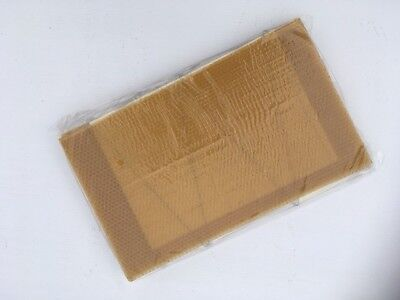 10 X Brood Wax Foundation Wired Sheets For National & Wbc