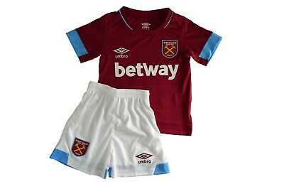info for 6447b 0d996 WEST HAM HOME Kit For Kids Brand New With Tags 2018/2019 Local Stock