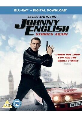 Johnny English Strikes Again (with Digital Download) [Blu-ray] Free Delivery 🚚