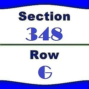 2x Old Dominion Tickets- Houston Rodeo- NRG Stadium- 2/26/2019- Sec 348 Row G