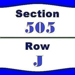 2x Old Dominion Tickets- Houston Rodeo- NRG Stadium- 3/4/2019- Sec 505 Row J