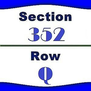 2x Old Dominion Tickets- Houston Rodeo- NRG Stadium- 3/4/2019- Sec 352 Row Q