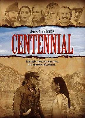 Centennial: The Complete Series (DVD, 2013, 6-Disc Set) New