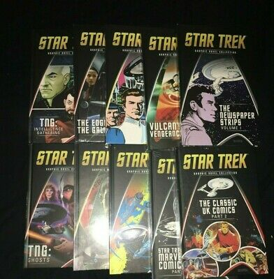 Star Trek Graphic Novel Collection Issues 11 - 20