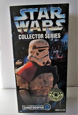 "STAR WARS Figurine ""SANDTROOPER"" COLLECTOR SERIES  kenner 1997"
