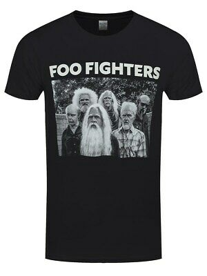 Foo Fighters T-Shirt Old Band Homme Noir