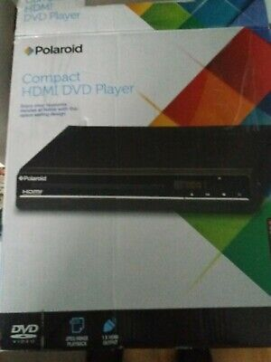 Polaroid Slim & Compact DVD Player HDMI Connection - NEVER USED
