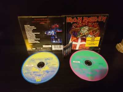 Iron Maiden Legacy Of The Beast Tour 2018 Very Rare