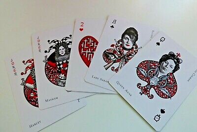 The Favourite film memorabilia playing cards and booklet