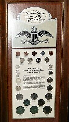 United States Coins Of The 20Th Century; Every Type Coin Minted From 1900-1971
