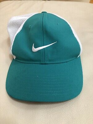53b278fc27f New without tags Nike Golf Mens mesh back golfing hat. Teal green szL XL