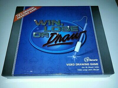 Win Lose Or Draw Video Drawing game For Tv Excellent condition