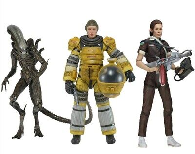 Alien Isolation/ Amanda Ripley/ Xenomorph/ Action Figure/ PVC/ 18cm in box