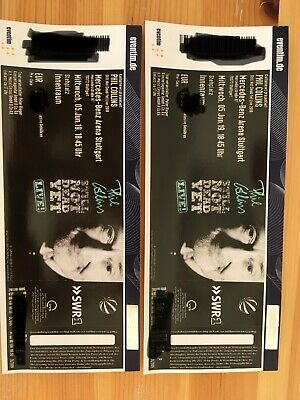 2x Phil Collins Tickets Stuttgart