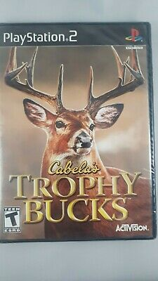Cabela's Trophy Bucks (Sony PlayStation 2, PS2 2007) BRAND NEW SEALED
