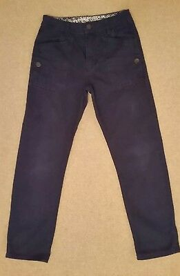 Boys Navy Blue Trousers Age 10 Years.
