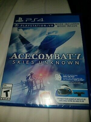 Ace Combat 7 Skies Unknown (PS4) Brand New Ships Same Day