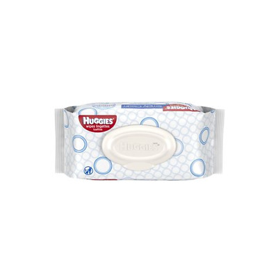 3 Pack HUGGIES Simply Clean Fragrance-free Baby Wipes Soft Pack, 64 Count each