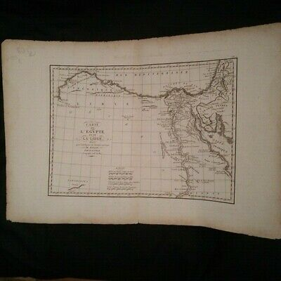 Map Egypt and the Libya