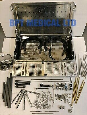 Synthes Surgical Instrument Sterilization Tray Medical JOB Lot over 100 items