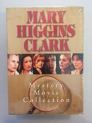 Mary Higgins Clark Mystery Movie Collection 6 DVD Box Set Sealed Brand New