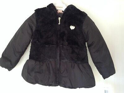 BNWT 100% Auth Juicy Couture, Baby Girl Black Jacket With Logo. Age 2 Yrs