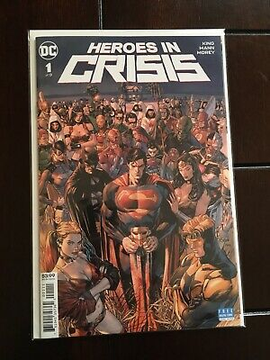 Heroes In Crisis 1A Main Tom King Dc 2018 New Harley Booster Nm